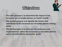 sample research proposal on mobile phone usage and health of youth  12