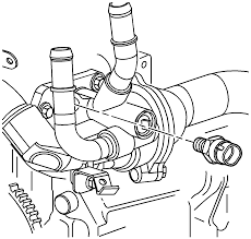 Repair instructions water pump removal 2004 saturn ion