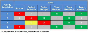 responsibility assignment matrices for project management responsibility assignment matrix