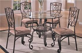 round glass top dining table set cool item associated with glass top dining table set 4
