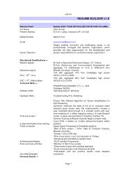 Usa Jobs Resume Resume Builder