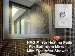 Bathroom Mirror Demister Mirror Demister Nrgmirrordefoggers