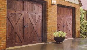 barn door garage doorsCarriage  Barn Style  American Excellence LLCGarage Doors
