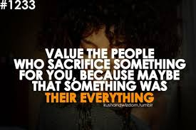 Quotes About Types Of Sacrifice 40 Quotes Custom Quotation About Love And Sacrifice