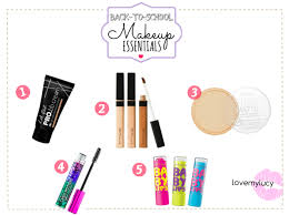 back to makeup essentials
