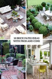 brick patio ideas. Brick Patio Ideas With Pros And Cons Cover I