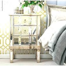 mirrored bedside furniture. Mirrored Chest Of Drawers And Bedside Tables 3 Drawer Table  Furniture Bedroom