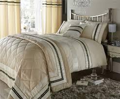 pandora duvet cover set double bed cream