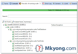 multiple test testng run multiple test classes suite test mkyong com