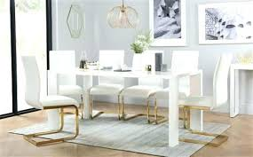 high gloss dining chairs gold dining set white high gloss dining table with 4 white chairs