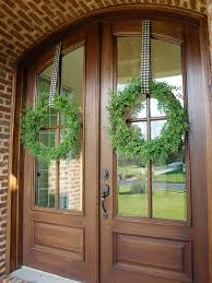good wreath hanger for glass door my favorite green less than perfect life of bliss home