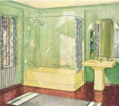 Yellow Bathroom Manchu Yellow American Standard Bathroom Decorating A Yellow