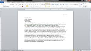 How To Make It Mla Format On Word Word How To Create An Annotated Bibliography