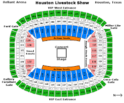 Houston Rodeo Seating Chart 2017 Up To Date Hlsr Seating Nrg Stadium Rows Houston Toyota