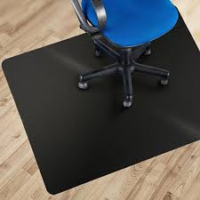 hardwood floor chair mats. Etm Black Polycarbonate Office Chair Mat - 90x120cm (3\u0027x4\u0027) | Multiple Sizes Available Hard Floor Protection No-Recycling Material High Impact Hardwood Mats