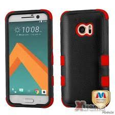 htc m10 red. xm-for htc one m10 natural black/red tuff hybrid case cover htc red