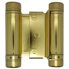spring loaded hinges for door. usps priority mail shipping on double action hinge! this spring loaded hinge can be used as a cafe door, swinging saloon door and much more. hinges for