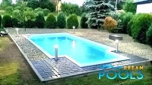 small inground pool cost fiberglass small rectangular inground pool cost