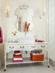 bathroom vanity mirrors. Adorable Venetian Bathroom Vanity Mirror In A Girly With White Vintage Counter And Sink Mirrors I