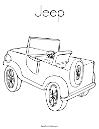 Small Picture Jeep Coloring Pages CAR Coloring pages Cool Cars 13 Free