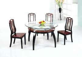 glass top round dining table glass top dining table set canada dining table with glass top