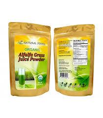 alfalfa gr juice powder organic