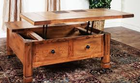 Full Size Of Table:acceptable Multifunction Pallet Coffee Table With  Storage Slide Out And Lift ...