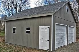 24 x 24 2 car garage