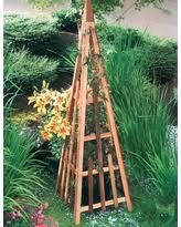 garden obelisk trellis. Pyramid Trellis Garden Obelisk E