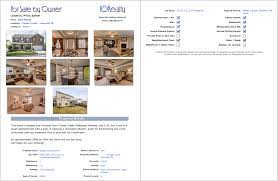 fsbo listing for by owner website house flyer template