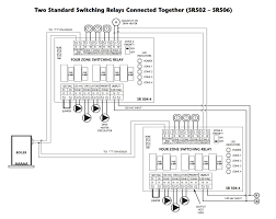 zone valve wiring installation & instructions guide to heating Taco Zone Valve Relay how to wire two taco switching relays in series to control up to 8 heating zones