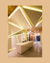 False Ceiling Design For Reception Area United Hardware Store By Architecture Anew