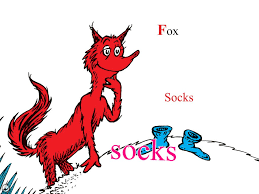 Small Picture Fox In Socks Coloring Page diaetme