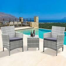 neo 3 piece rattan garden furniture
