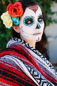 day of the dead makeup tutorial you
