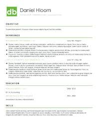 Modern Resume Format Personal Brand Resume Template Modern Resume