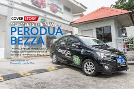 perodua new release carMCF joins Perodua for the launch of the new Bezza