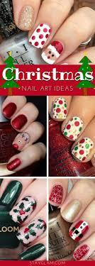 29 Festive Christmas Nail Art Ideas   StayGlam