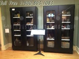 full size of glass door cabinet display singapore ikea hemnes with drawers 3 visible museum cabinets