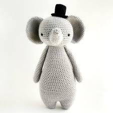 Elephant Pattern Best Amigurumi Crochet Elephant Pattern By Little Bear Crochets