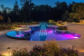 swimming pool lighting design. Perfect Pool Outdoor DecorPool Lighting Ideas Swimming Pool Area  To Design