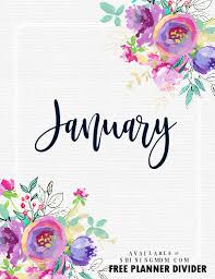 Free Printable Binder Covers Free Printable Binder Dividers For All The Months Of The Year