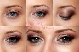 eye makeup for blue eyes video tutorial