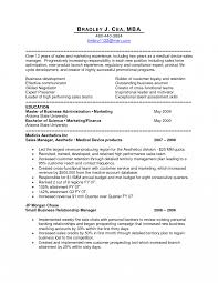 Medical Device Resume Examples Sales Representative Exles Manager