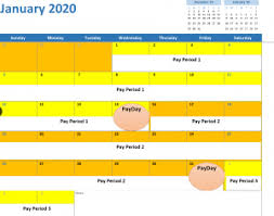Pay Period Types Payroll Calendars State Requirements