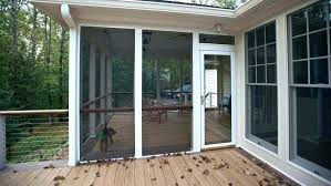 screen porch framing aluminum doubtful door and window repair services system o53