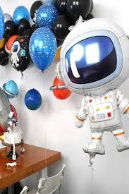 Uzay Temalı Astronot Folyo Balon 3 lü Set