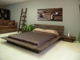 Reclaimed wood bedroom furniture with artistic design ideas for artistic  bedroom inspiration 7