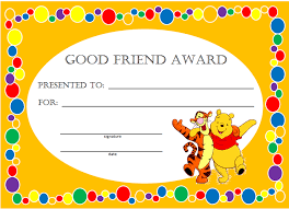 Kids Award Certificate Kid Awards Certificates Under Fontanacountryinn Com