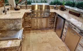 outdoor kitchen white granite countertops